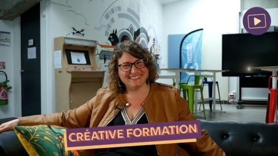 Fond videos creative formation